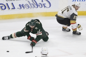 Staal's 3rd-period pair gives Wild 4-2 win vs. Knights