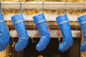 This Ikea Christmas stocking hack is (kind of) genius