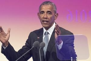 Obama: We need to elect more women because 'men seem to be having problems'