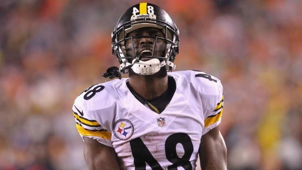 sports shoes f6657 14a97 Sport: Antonio Brown calls JuJu Smith-Schuster hit on ...