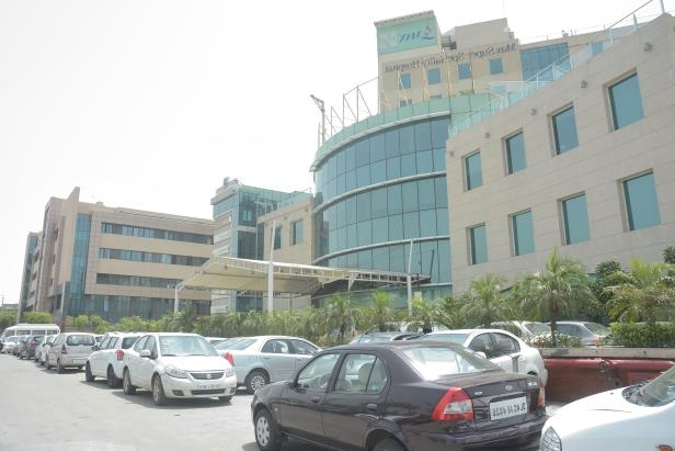 MAX hospital of Shalimar Bagh.