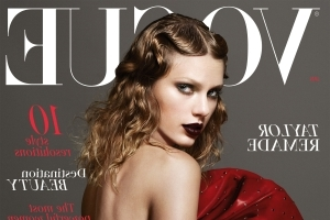 Taylor Swift's January British Vogue Cover Continues Her Edgy Reputation Style Streak