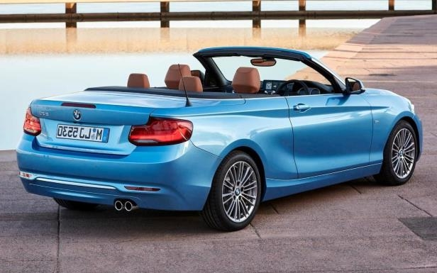 Slide 6 of 6: 2018 BMW 2 Series Convertible
