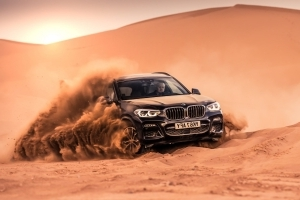 Beaching a BMW X3 in the Saharan Desert
