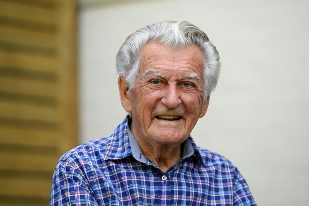 Former prime minister Bob Hawke said he was a true-blue ridgy-didge Aussie.