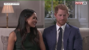 Outtakes show Harry and Meghan joking around
