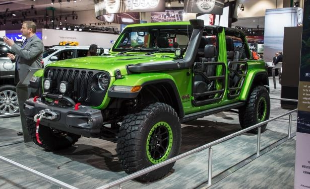 Slide 13 of 22: 2018 Jeep Wrangler Custom