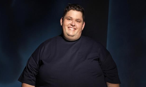 Slide 34 of 181: Comedian Ralphie May in 2003.