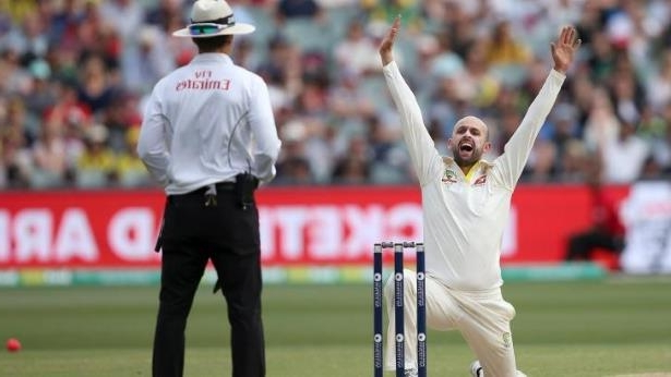 Spin king: Nathan Lyon in Adelaide
