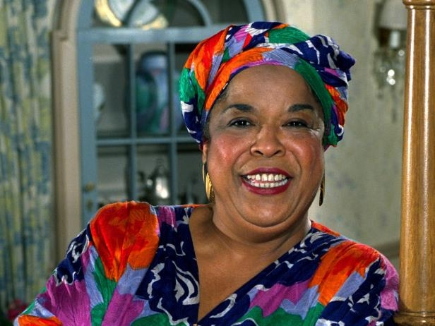 Slide 11 of 181: This October 1991 file photo shows actress Della Reese. Reese, the actress and gospel-influenced singer who in middle age found her greatest fame as Tess, the wise angel in the long-running television drama