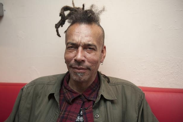Slide 19 of 181: Chuck Mosley poses for portrait backstage at Boston Music Room on October 10, 2016 in London, England.