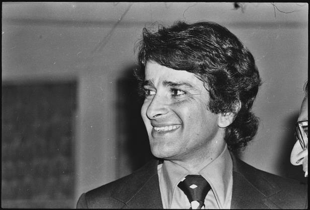 Slide 2 of 181: (File photo) Bollywood actor Shashi Kapoor spotted, on April 18, 1987, In Mumbai, India.