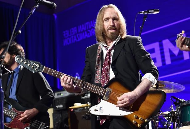 Slide 36 of 181: Tom Petty performs at a benefit gala in January 2016 in Beverly Hills, California.