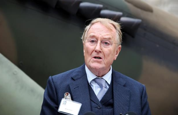 Slide 78 of 181: Robert Hardy