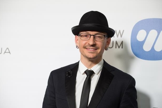 Slide 89 of 181: Musician Chester Bennington attends the Warner Music Group's Annual GRAMMY Celebration at Milk Studios on February 12, 2017 in Hollywood, California. (