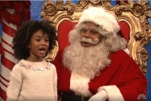 'SNL': Kids Keep Putting Santa on the Spot by Asking About Al Franken and Roy Moore