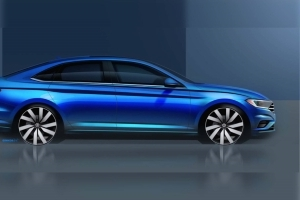 VW Teases Sleek New Jetta Ahead Of Detroit Auto Show Debut
