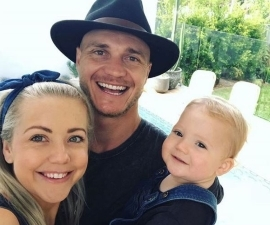The Block fan faves Kyal and Kara Demmrich are having a second child - and Kara has debuted her baby bump for the first time!: the block kara