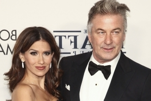 Hilaria Baldwin Shares Hilarious Snap After Family Photo with Santa Didn't Turn Out as Planned