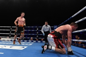 Horn wins WBO welterweight title defense against Corcoran