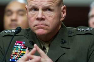 Top general tells Marines to be prepared for a big fight