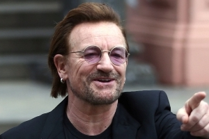 Bono reveals he had near-death experience, says music 'has gotten very girly'