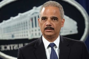 Holder slams Trump's comments on Justice Department