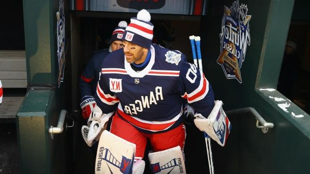 sports shoes 2459a 8b81a Sport: NHL Winter Classic 2018: Rangers' Lundqvist looks to ...