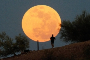 Rare supermoon to light up the New Year's Day sky - here's how and when to see it