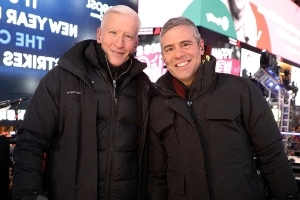 Anderson Cooper Bought $2,900 Worth of Electric Clothing for New Year's Eve Special