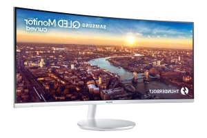Samsung's new curved monitor has Thunderbolt 3