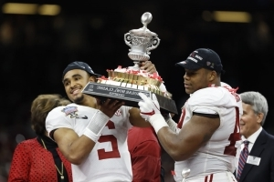 With six national title game appearances in nine years, Alabama's run surpasses all other recent dynasties