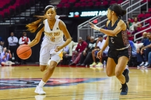Grambling's Shakyla Hill gets 4th D-I women's quad-double
