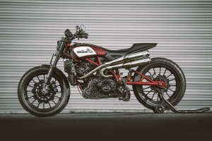 Indian Motorcycle Scout FTR1200 Custom Unveiled