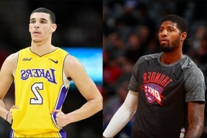Paul George calls Lonzo Ball one of the best basketball players ever for his age