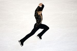 This Figure Skater Performs To