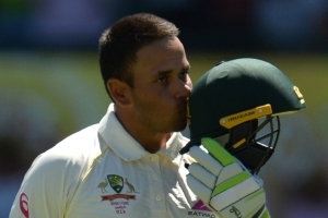 Khawaja hits 166 as Australia edge ahead in Sydney