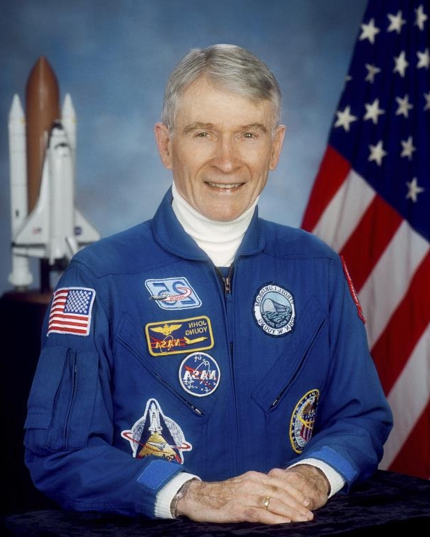John Young, moon walker and NASA's longest-serving astronaut, dies at 87