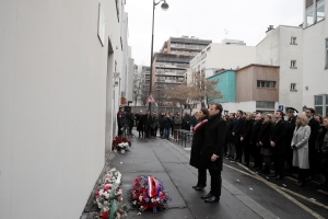 Macron leads tribute 3 years after Charlie Hebdo attacks