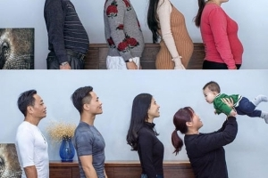 Photographer tracks entire family's amazing weightloss over 6 months