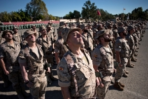 Too fat to march: Spanish Legion soldiers put on diet
