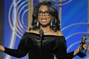 'A New Day Is on the Horizon.' Oprah's Powerful Golden Globes Speech Honours Women of #MeToo Movement