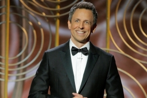 Golden Globes: Seth Meyers Focuses on Terrified Hollywood Men in Opening Monologue