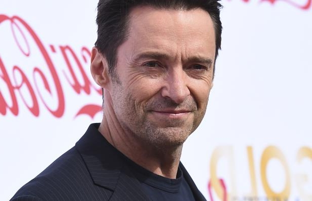 Hugh Jackman arrives at the 5th Annual Gold Meets Golden event.