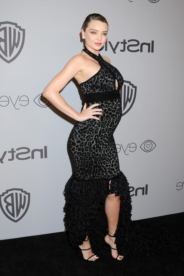 Model Miranda Kerr attends 19th Annual Post-Golden Globes Party. (Photo by Jon Kopaloff/FilmMagic)