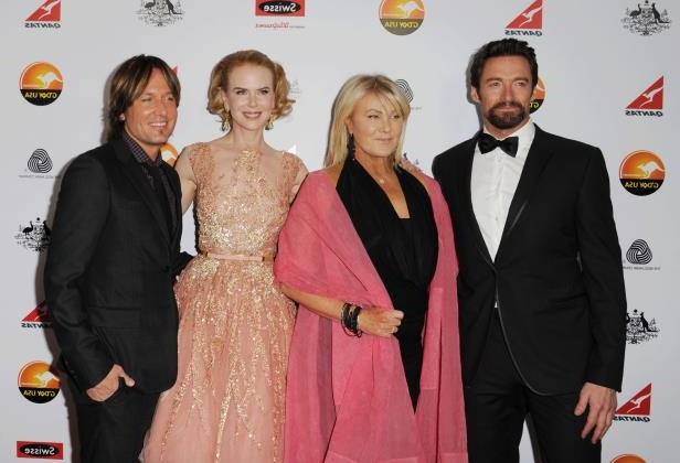 Slide 15 of 20: LOS ANGELES, CA - JANUARY 12: Hugh Jackman, Deborra-Lee Furness, Nicole Kidman and Keith Urban attend the 2013 G'Day USA Black Tie Gala at JW Marriott Los Angeles at L.A. LIVE on January 12, 2013 in Los Angeles, California. (Photo by Jeffrey Mayer/WireImage)