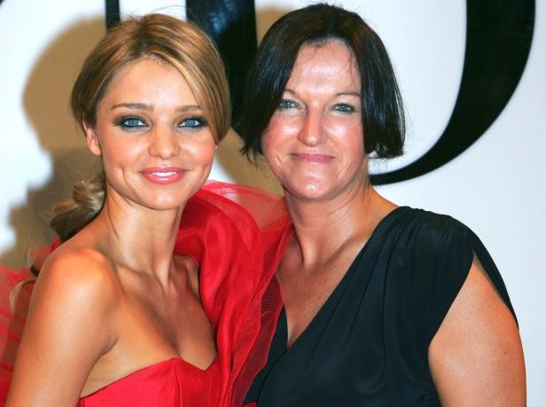 Slide 2 of 27: Calibre at the David Jones Spring/Summer 2009 Fashion Show, Sydney, Australia - 04 Aug 2009 Miranda Kerr, right, with mother Therese