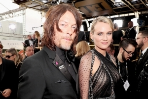 There They Are! Diane Kruger and Norman Reedus Make Red Carpet Debut