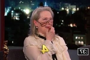 Meryl Streep completely bombs a quiz about her own Oscar nominations