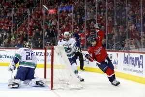 Canucks drop 5th straight as Capitals too much at home